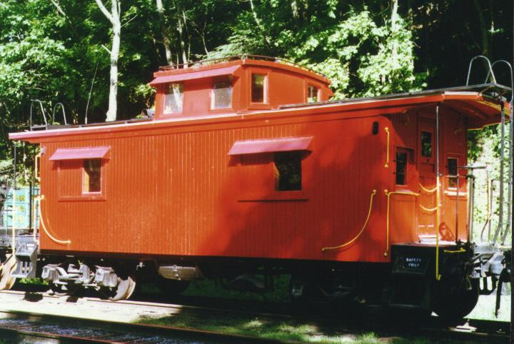 C&O wooden caboose